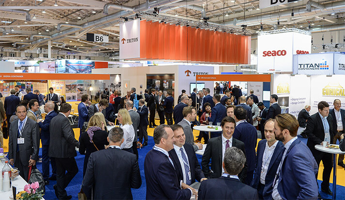Business being done at Intermodal Europe
