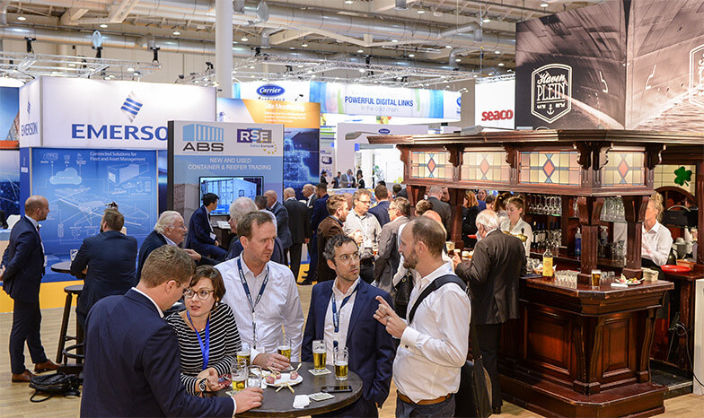 Drinks and Business at Intermodal Europe