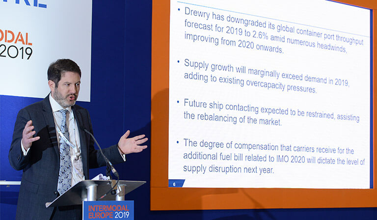 Drewry Speaker at Intermodal Europe